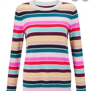 NWT Boden Cashmere Crew Neck Sweater, size M